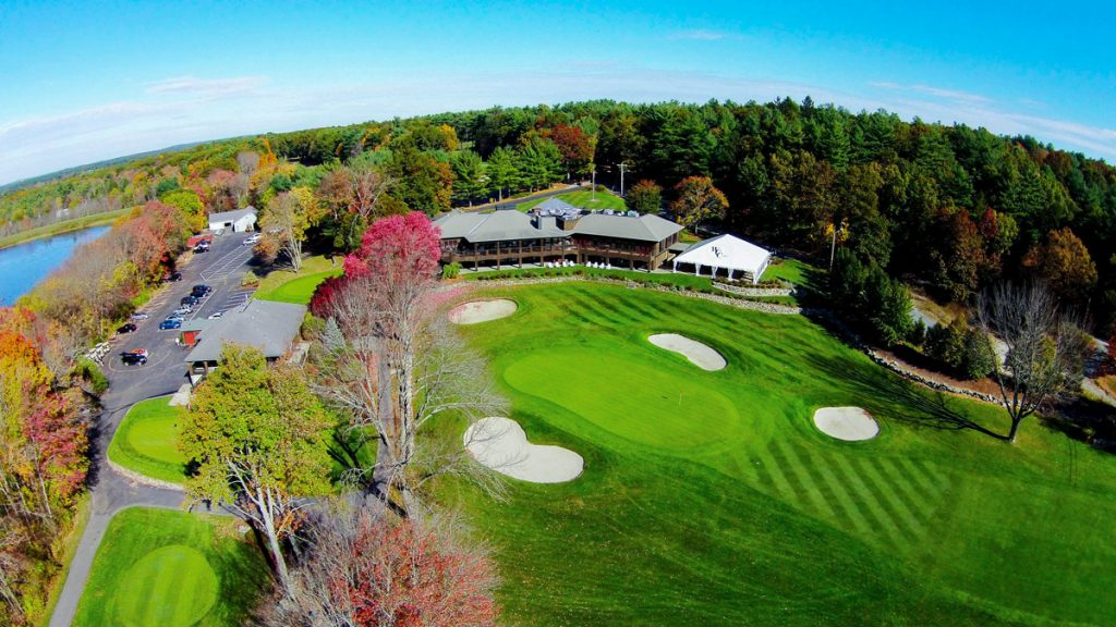 Walpole Country Club Aerial