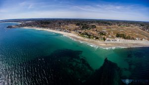 North Hampton Beach Aerial 2