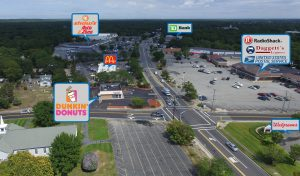 Dunkin Donuts Aerial